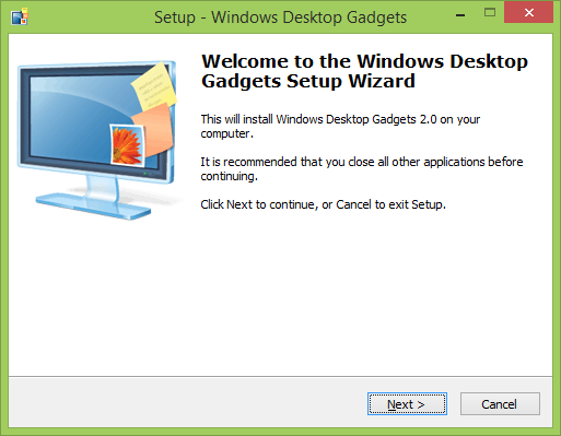 ������ Desktop Gadgets ������